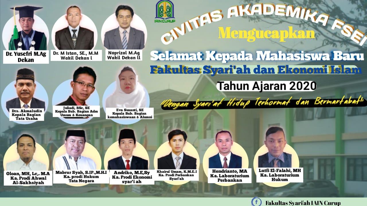 Selamat Mahasiswa Baru